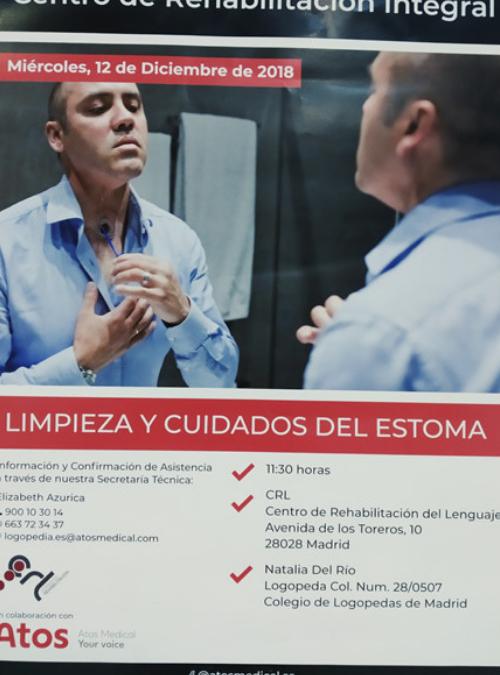 CURSO DE LIMPIEZA Y CUIDADOS DEL ESTOMA