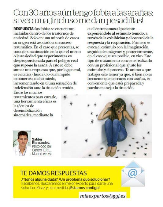 """Revista """"Mía"""". Del 6 al 12 de septiembre de 2017. Pág. 31"""