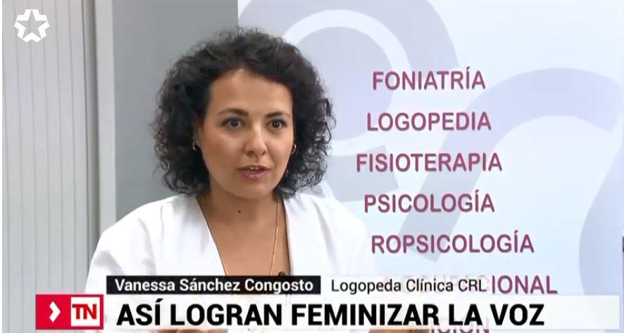 Terapia para feminizar la voz de mujeres transgénero: CRL en Telemadrid