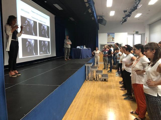 Taller sobre Voz en el Colegio Inmaculada Concepción(5 Sept  2019)