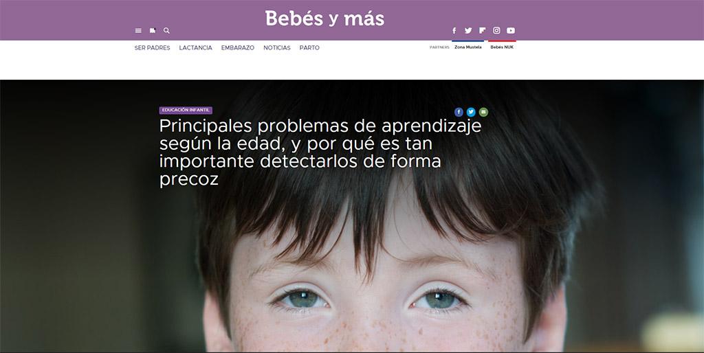 PRINCIPALES PROBLEMAS DE APRENDIZAJE DURANTE LA PRIMERA ETAPA DE LA INFANCIA.